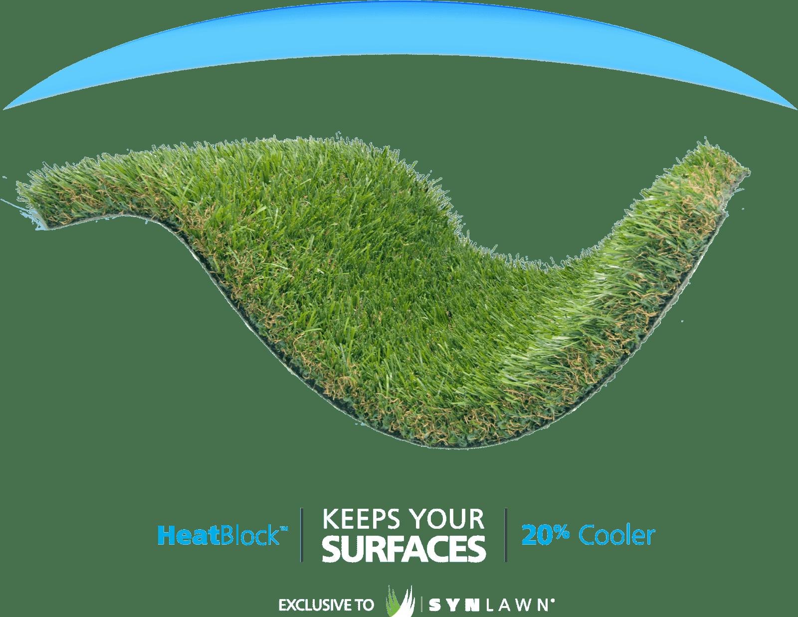 Artificial Grass HeatBlock Technology